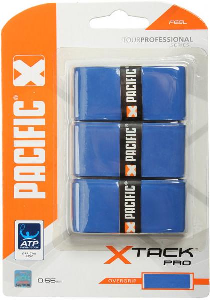 Viršutinės koto apvijos Pacific X Tack Pro (3 vnt.) - blue