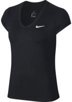 Nike Court Dry Top SS W - black/white