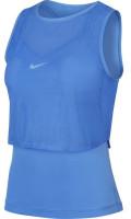 Marškinėliai moterims Nike Court Elevated Essential Dry Tank - royal pulse/white
