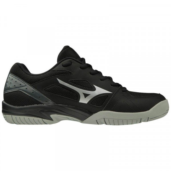 Buty do squasha Mizuno Cyclone Speed 2 - black/silver/dark shadow