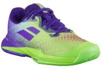 Juniorskie buty tenisowe Babolat Jet Match 3 All Court Junior - jade lime