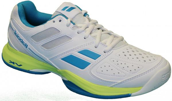 Sieviešu tenisa apavi Babolat Pulsion All Court W - white/blue