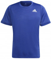 Meeste maika Adidas Freelift Tee - victory blue/white