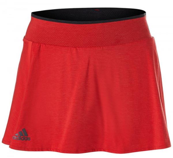 Teniso sijonas moterims Adidas Barricade Skirt - scarlet/black