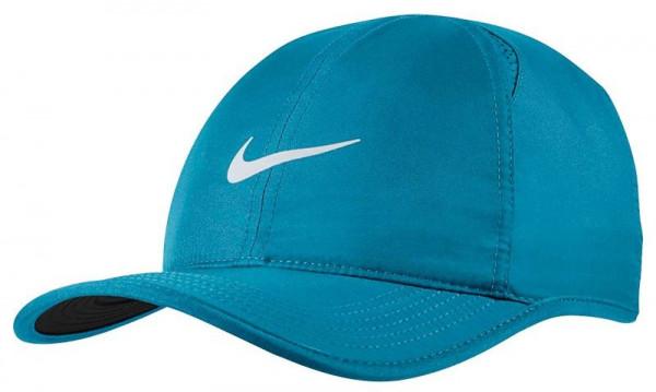Nike U Aerobill Feather Light Cap - green abyss/black/pure platinum