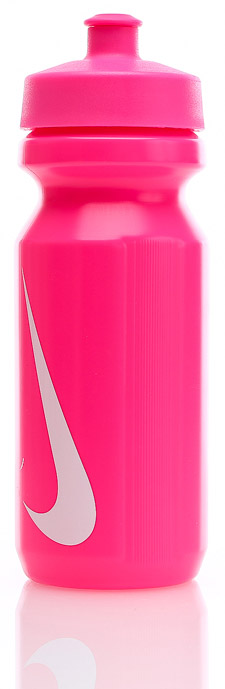 Bidon Nike Big Mouth Water Bottle 0,65L - pink pow/white
