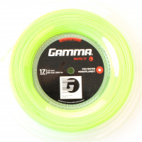 Tennis String Gamma MOTO (200 m) - lime