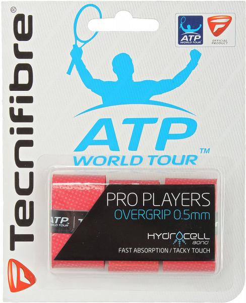 Gripovi Tecnifibre Pro Player's 3P - red