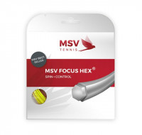 MSV Focus Hex (12 m) - neon yellow