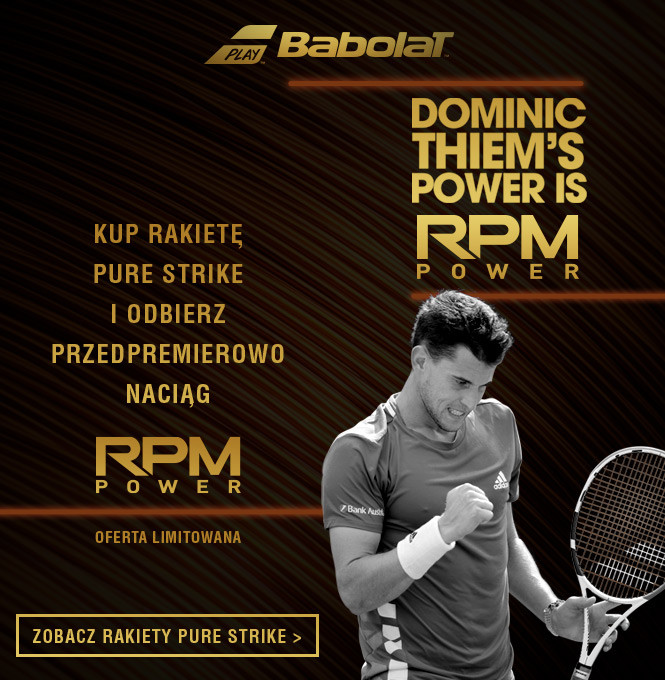 Babolat Pure Strike & RPM Power