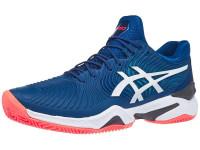 Męskie buty tenisowe Asics Court FF 2 Clay - mako blue/white