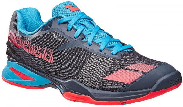 Męskie buty tenisowe Babolat Jet All Court M - grey/red/blue