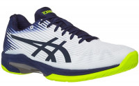 Męskie buty tenisowe Asics Solution Speed FF - white/peacoat