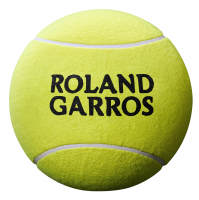 Piłka na autografy Wilson Roland Garros Mini Jumbo Ball - yellow