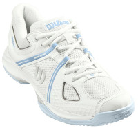 Damskie buty tenisowe Wilson NVISION 2.0 W - white/illusion blue/cashmere blue