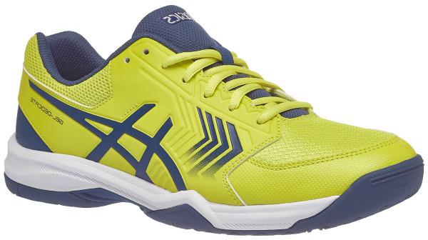 Męskie buty tenisowe Asics Gel-Dedicate 5 - sulphur spring/ink blue/silver