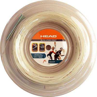 Naciąg do squasha Head Evolution Pro (110 m) - white