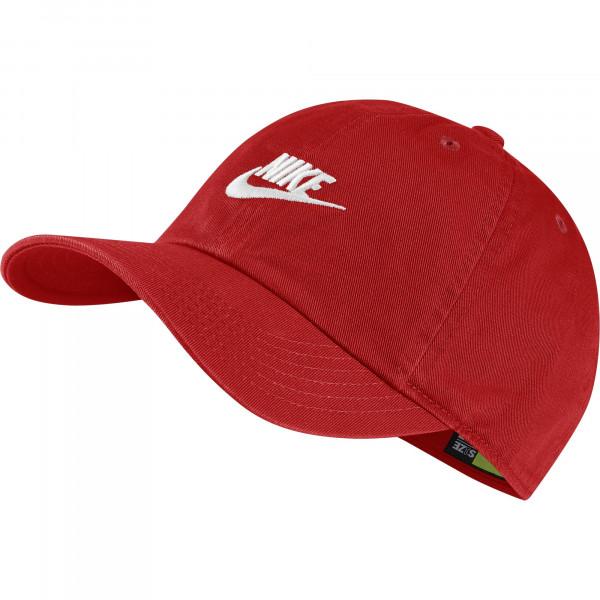 Czapka tenisowa Nike H86 Cap Futura Youth university redwhite