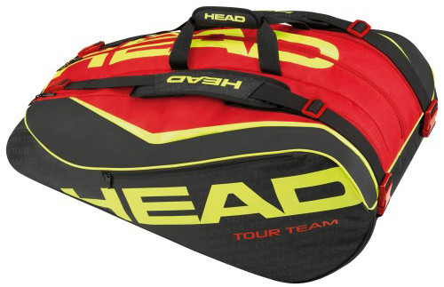 Head Extreme 12R Monstercombi - black/red
