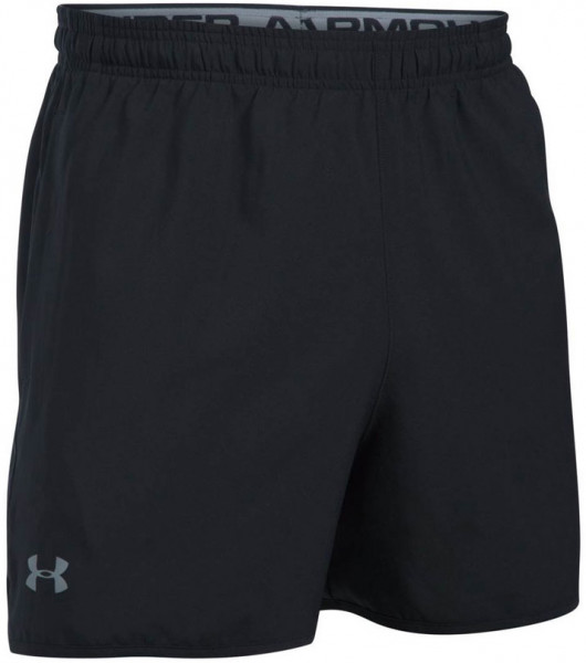 Under Armour Qualifier 5in. Woven Short - black