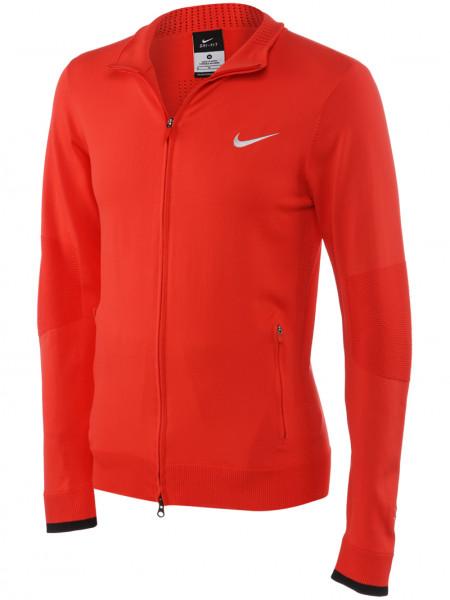 Męska bluza tenisowa Nike Premier RF Cover-Up - lt crimson/metallic silver