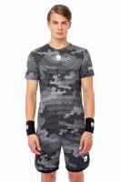 Teniso marškinėliai vyrams Hydrogen Tech Camo Tee Man - camo reflex/black
