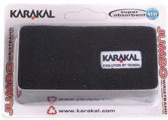 Znojnik za ruku Karakal Logo Jumbo Wristbands - black