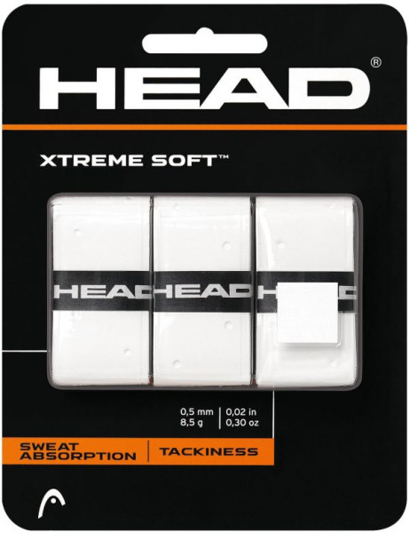 Gripovi Head Xtremesoft white 3P