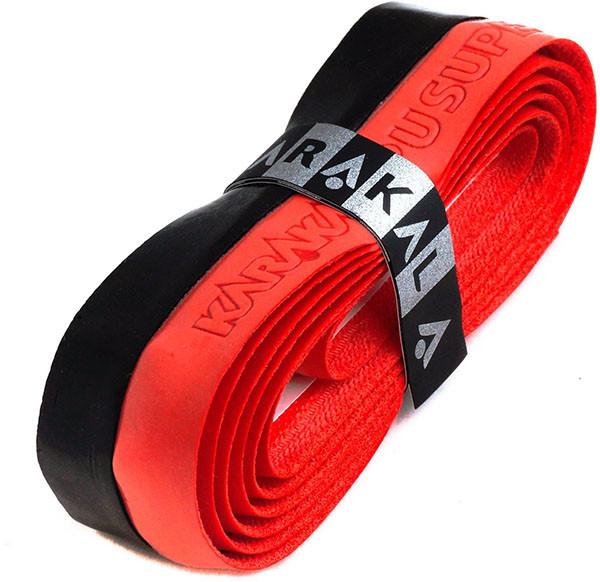 Grip - replacement Karakal PU Super Grip Duo (1 szt.) - black/red