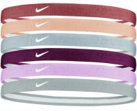 Nike Swoosh Sport Headbands 6PK 2.0 - firewood orange/orange chalk/ light armory blu