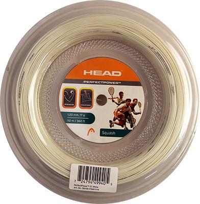 Squash strings Head Perfect Power (110 m) - white