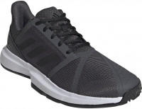 Męskie buty tenisowe Adidas CourJam Bounce M Clay - grey six/core black/cloud white