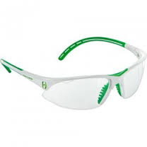 Squash protection glasses Harrow Covet Eye Guard - white/kelly green
