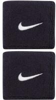 Nike Swoosh Wristbands - obsidian/white