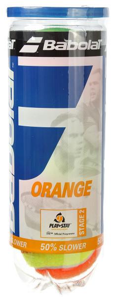 Teniso kamuoliukai pradedantiesiems Babolat Orange (stage 2) - 3 vnt.