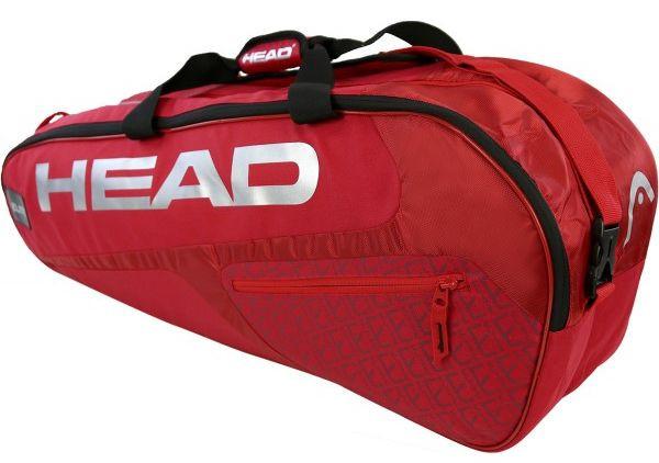 Head Elite 6R Combi - red/red