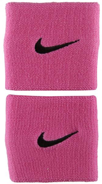 Frotki Tenisowe na nadgarstki Nike Premier Wristbands - red violet/black