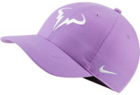 Czapka tenisowa Nike Rafa U Aerobill H86 Cap - bright violet/white