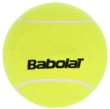 Ball for autographs Piłka Gigant Babolat Jumbo Tennis - yellow