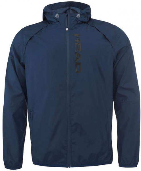 Tenisa džemperis vīriešiem Head Vision Light Jacket M - navy