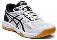 Buty do squasha Asics Upcourt 4 GS - white/black