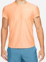 Męski T-Shirt Nike Court Breathe Advantage Top - peach cream/peach cream/white