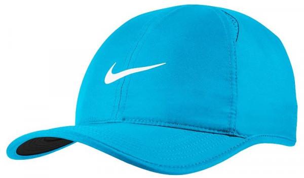 Nike U Aerobill Feather Light Cap - equator blue/black/equator blue/white