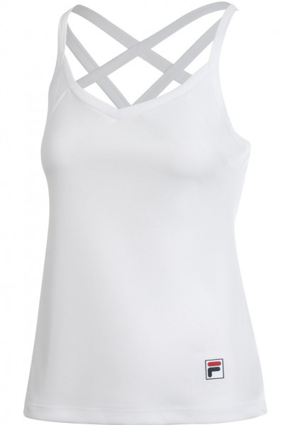 Damski top tenisowy Fila Top Alicia W - white