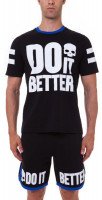 Męski T-Shirt Hydrogen Do It Better T-Shirt - black