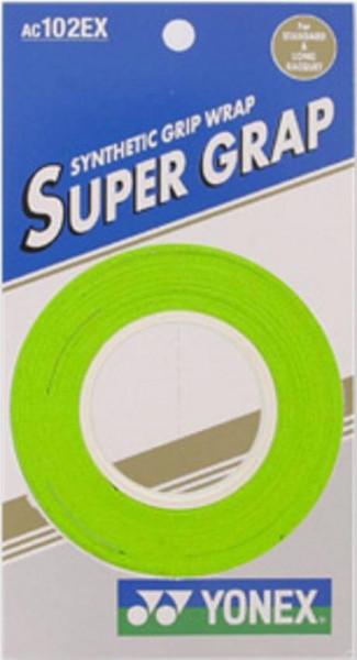 Tenisa overgripu Yonex Super Grap 3P - green