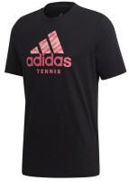 Teniso marškinėliai vyrams Adidas Cat Badge Of Sport - black