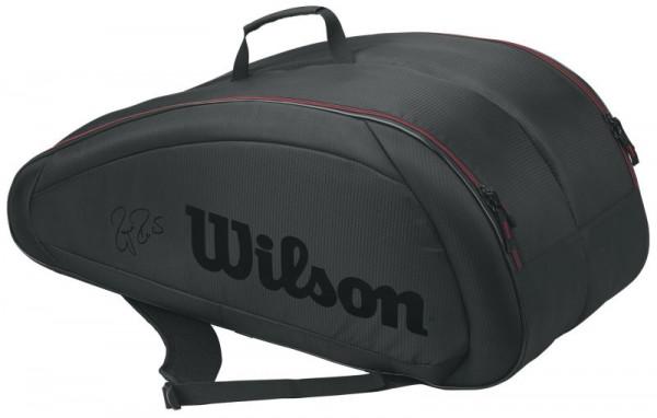 Wilson Fed Team 12 Pk Bag - black/red