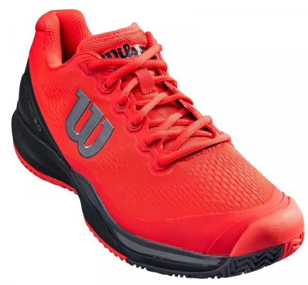 Męskie buty tenisowe Wilson Rush Pro 3.0 - poppy red/black/ebony