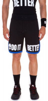 Męskie spodenki tenisowe Hydrogen Do It Better Shorts - black